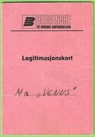 Norge - Legitimasjonskort - Passport - Passeport - Norway - Non Classés