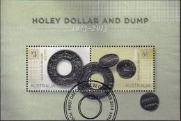 Australia 2013 Holey Dollar Used Sheet - 2010-... Elizabeth II