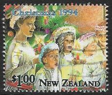 New Zealand SG1836 1994 Christmas $1 Good/fine Used [20/18496/4D] - Oblitérés