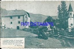110821 ITALY SQUILLAR DI BONZI MOSSI COSTUMES CIRCULATED TO NAPOLI POSTAL POSTCARD - Italie
