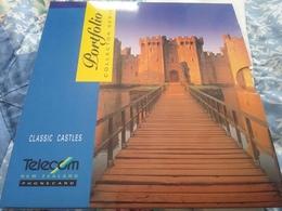 Telecom New Zealand Portfolio Collectors Set Classic Castles - Nuova Zelanda