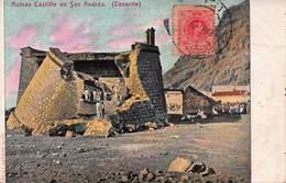CPA Ruinas Castillo De San Andrés ( Tenerife ) - Tenerife