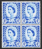 Wales & Monmouthshire - Scott #8 MNH - Block Of 4 (1) - Emissions Régionales
