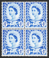 Wales & Monmouthshire - Scott #8 MNH - Block Of 4 (2) - Emissions Régionales