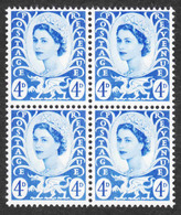 Wales & Monmouthshire - Scott #8 MNH - Block Of 4 (3) - Emissions Régionales