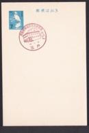 Japan Commemorative Postmark, 1967 Sannohe Post Office Apple (jci1725) - Ungebraucht