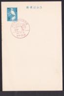 Japan Commemorative Postmark, 1967 Nishido Post Office (jci1730) - Ungebraucht