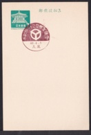 Japan Commemorative Postmark, 1968 Yao City (jci1884) - 1989-... Empereur Akihito (Ere Heisei)