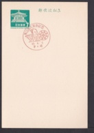 Japan Commemorative Postmark, 1968 Oooka Festival (jci1885) - 1989-... Empereur Akihito (Ere Heisei)