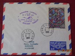 Lettre De 1965 à Destination De Hambourg - Marcophilie (Lettres)