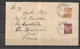 Yougoslavie  Lettre Du 03 02  1939   Pour La Landalle  Oise ( 471  Habitants ) - 1931-1941 Royaume De Yougoslavie