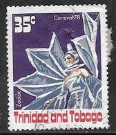 1978 35 Cents Carnival, Zodiac, Used - Trinidad & Tobago (1962-...)