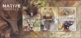 Australia 2015 Native Animals Sheet CTO - 2010-... Elizabeth II