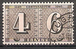 Schweiz Mi.Nr. 416 O 100 Jahre Schweizer Briefmarken 1943 (201888) - Schweiz