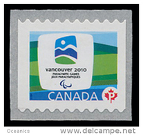 Canada (Scott No.2307 - Olympiques D'hiver / Vancouver 2010 / Winter Olympics ) (**) Roulette / Coil / (5000) - Hiver 2010: Vancouver