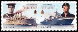 Canada (Scott No.2386ai - La Marine Canadienne / Canadian Naval Force) [**] NOTE - 1952-.... Règne D'Elizabeth II