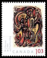 Canada (Scott No.2438 - Art / Daphne Odjig - $1,03) [**] De Carnet / From BK - 1952-.... Règne D'Elizabeth II