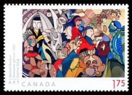 Canada (Scott No.2439 - Art / Daphne Odjig - $1,75) [**] De Carnet / From BK - 1952-.... Règne D'Elizabeth II