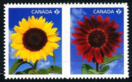 Canada (Scott No.2444a - Tourne-sol / Sunflower) [**] (P) - 1952-.... Règne D'Elizabeth II