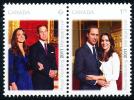 Canada (Scott No.2465a - Mariage Princier / 2 / Royal Wedding) [**] - 1952-.... Règne D'Elizabeth II