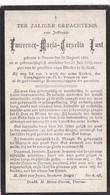 Veurne, 1919, EmerenceLust, - Devotieprenten