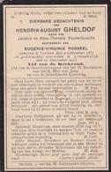 Veurne, Avecapelle, Avekapelle, 1913, Hendrik Gheldof, Vandenbussche, Rosseel - Devotieprenten