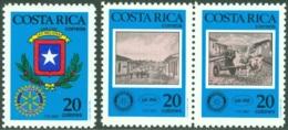 COSTA RICA 1987 ANNIVERSARIES, ROTARY CLUB** (MNH) - Costa Rica