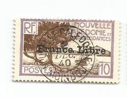 200   SurchargeFrance Libre   Belle Obliteration  (cam19) - Used Stamps