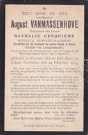 Veurne, 1913, August Van Massenhove, Gesquière - Devotieprenten