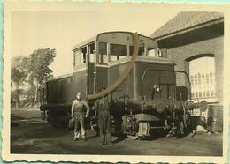 TRAM : OVERIJSE 11/55  :  ART500 : Tracteur A Double Moteur Diesel   : 9 X 6 Cm ( See Scan For Detail ) - Trains