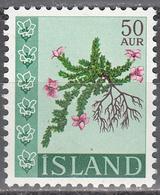 ICELAND     SCOTT NO. 329       MNH        YEAR  1960 - 1944-... Republique