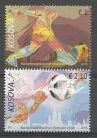 KOS 2018-08  FIFA CUP RUSSIA-2018, KOSOVO, 1 X 2v + S/S, MNH - 2018 – Russie