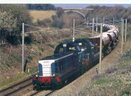 Le FRET Sncf TRAIN ENTIERS UM De BB 66000  U 1390 - Trains