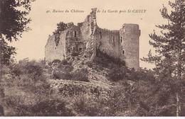 41 RUINES DU CHATEAU DE LA GARDE                      Pres De St Chely - Saint Chely D'Apcher