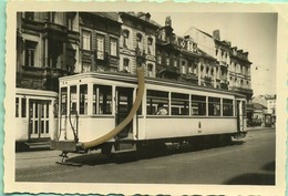 TRAM : BRUXELLES 22/04/56 :  19540 Remorque Gent -Gantoise En Service A Bruxelles : 9 X 6 Cm ( See Scan For Detail ) - Trains