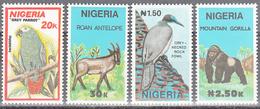 NIGERIA     SCOTT NO. 571-74      MNH        YEAR  1990 - Nigeria (1961-...)
