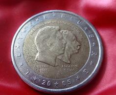 2 Euro Gedenkmünze Luxemburg 2005 - 50. Geburtstag Von Großherzog Henri  CIRCULATED COIN - Luxemburg