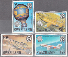 SWAZILAND       SCOTT NO. 431-34      MNH        YEAR  1983 - Swaziland (1968-...)