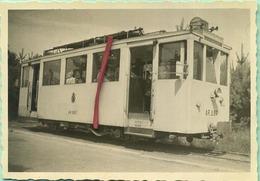 TRAM :AR227 : A Keerbergen Au Départ Vers Aarschot  : 9 X 6 Cm ( See Detail ) - Trains
