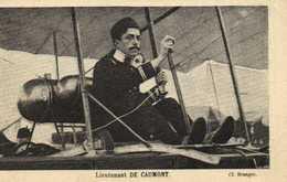 Lieutenant DE  CAUMONT  RV - Aviatori