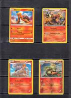 POKEMON  Lot De 12  Cartes  Série  PV   100-110-120-130-140-150-160    Niveau 1 Et 2 Et Base    En Excellent état - Pokemon
