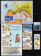 GIBRALTAR  2 X SHEETS &  SETS  MNH - Gibraltar