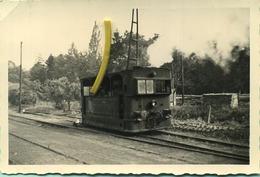 TRAM : HL817 : A Grand écartement ( I.435M ) Haut-le-pied :  OVERIJSE 15/09/1956     :9 X 6 Cm ( See Detail ) - Trains