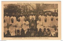 COTE  D' IVOIRE:  GROUPE  DE  MISSIONAIRES  A  LA  MISSION  DE  MOOUSSO  -  PHOTO  -  FP  -  RRR - Costa D'Avorio