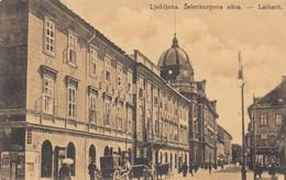 Ansichtskarte Ljubljana Selenburgova Ulica, Laibach, Zensiert - Slowenien