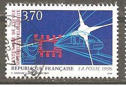 FRANCE 1995 Y T N ° 2937  Oblitéré - France