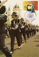 """"""" GARDE NATIONAL REPUBLICAIN / INFANTERIE """" Sur Carte Maximum N°tée Du PORTUGAL De 2001 - Police - Gendarmerie"""