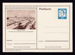 15 Pf. Bild-GS Züge  Hannover  Ungebraucht - Trains