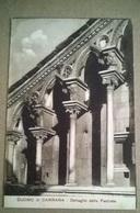 DUOMO DI CARRARA DETT. DELLA FACCIATA - VIAGGIATA 1919 (154) - Chiese E Cattedrali