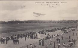 AUBE - CIRCUIT DE L'EST D'AVIATION - Aout 1910 - Première Etape - Paris - Troyes 11 - A La Pelouse - France